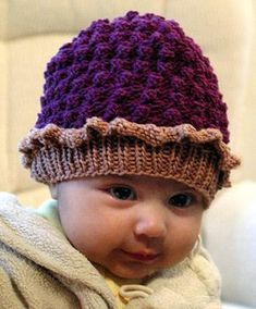 Sweet as pie, Baby Tart hat! Free pattern from knitty.com. The Websters has your Tahki Cotton Classic! http://yarnatwebsters.com/store/yarn-companies/tahki/tahki-cotton-classic.html