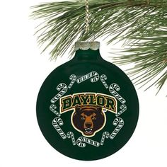 #Baylor Bears Candy Cane Traditional Ornament