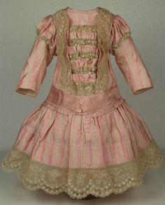 Wonderful Antique French Doll Dress