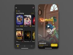 Cinema Ticket App - Part 1 by Hariansyah on Dribbble Cinema Ticket, Super Hero Outfits, Mobile App Design, Apps, Phone, Telephone, App, Mobile Phones, Appliques