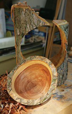 green wood bowls - Buscar con Google Wood Turning Lathe, Wood Turning Projects, Wood Lathe, Lathe Projects, Wood Projects, Woodworking Projects, Wooden Art, Wooden Bowls, Wood Turned Bowls