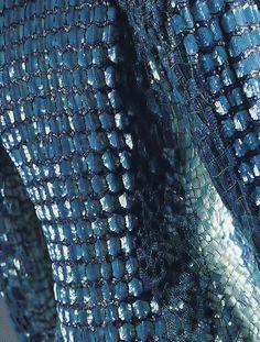 """Yves Saint Laurent """"Crocodile"""" jacket, 1986."""
