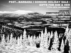 Barbara I Gongini lagersalg - December 2013 #lagersalg