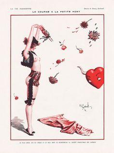 by Henry Gerbault 17 June 1922 / Darwination Scans: La Vie Parisienne / Francis Smilby's Stolen Sweets