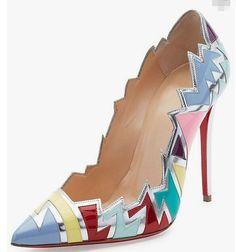 Christian Louboutin Pre-Spring 2017 | Lovika #Christian Louboutin Shoe Designer #womens  #christianlouboutin #shoes #louboutin #suede