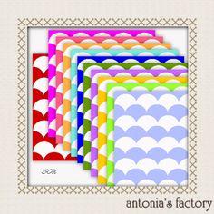 freebies de antonia's factory: papeles ondulados
