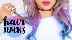 10 Hair Hacks Every Girl Should Know! | Wengie - Youtube From trimming split ends to moisturizing, gotta try theeeese!
