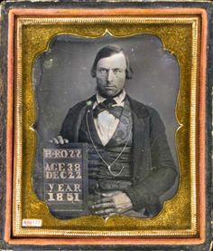 "ca. 1851, ""H. Ross/Age 38/Dec 22/Year 1851.""  via the Daguerreian Society, Matthew R. Isenburg Collection"