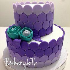 Purple dots cake Mujeres / niñas / woman / girls Pastel / cupcakes / cake Bakery 676