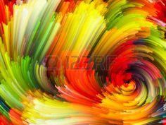 abstracto: Diseño abstracto hecho de nubes del fractal de colores y elementos gráficos sobre el tema de las fuerzas de la naturaleza, el arte, el diseño y la creatividad