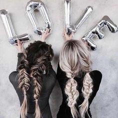 Peinados que te puedes hacer con tu Mejor Amiga o Hermana