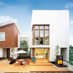 店舗併用住宅 完成事例一覧|注文住宅のハウスネットギャラリー