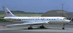 Aeroflot Tu-104 at Arlanda
