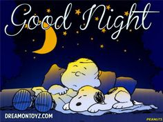 It's all about Snoopy, Charlie Brown, and the rest of the Peanuts gang! Good Night Everybody, Good Night Friends, Good Morning Good Night, Good Night Sleep, Snoopy Love, Snoopy And Woodstock, Baby Snoopy, Peanuts Cartoon, Peanuts Snoopy