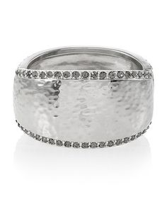 White House | Black Market Silver Hammered Cuff. Bought it - new fave!