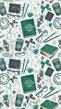 super ideas for book background wallpapers iphone wallpaper harry potter Green Wallpaper, Trendy Wallpaper, Galaxy Wallpaper, Wallpaper Backgrounds, Wall Wallpaper, Iphone Wallpaper Books, Green Backgrounds, Kate Spade Wallpaper, Iphone Backgrounds