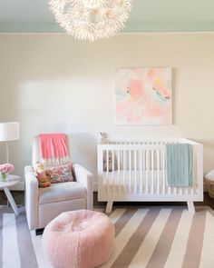 @babyletto on Instagram:  fresh florals for babe  • #babyletto Hudson crib • designed by @kristenfegaleinteriors  • : @carrisabyers