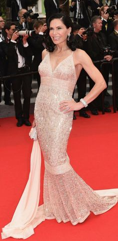 Fabulously Spotted: Mouna Ayoub in Chanel Couture – 'Jimmy Hall' 2014 Cannes Film Festival Premiere Chanel Couture, Blush Dresses, Formal Dresses, Cannes Film Festival 2014, Red Carpet Gowns, Fashion, Haute Couture, Dresses For Formal, Moda