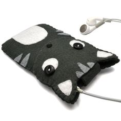 Cat iPod case iPod Touch Case Phone Cover Cat iPhone por minifelts, £20.00