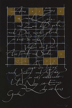 The Berlin Calligraphy Collection: Hermann Zapf
