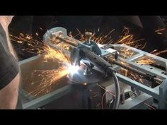 plasma motorized circle cutter......see the video here. Cnc Plasma