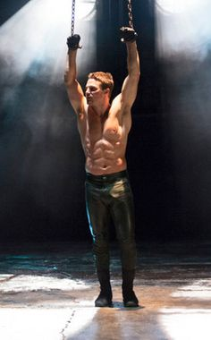 Stephen Amell... I mean who doesn't want to see him shirtless, chained up and in leather trousers ;)