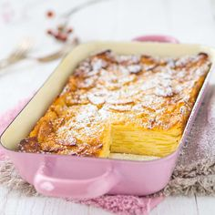 Apfel-Birnen-Schichtkuchen mit Zimt Foto: Sarah Thor-Diem Piece Of Cakes, Thor, Camembert Cheese, Banana Bread, Desserts, Daddy, Free, Apple Crumble Recipe, Strawberry Tarts