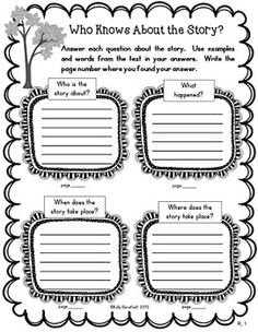 Reading Graphic Organizers: Reading Literature Grades 3-5