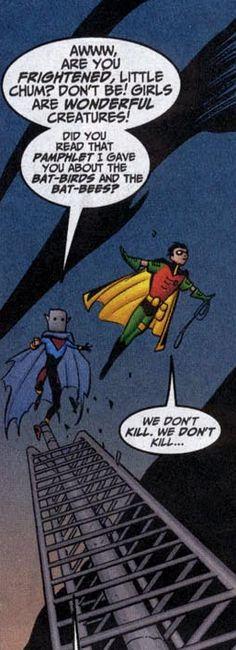 We don't kill. We don't kill... - Superboy v385