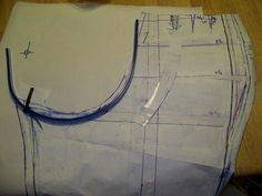 Phat Chick Designs: Those Elusive Perfect Pants - working with crotch curve