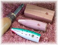 Learn how to make your own wooden top water fishing lures; I will show you how.