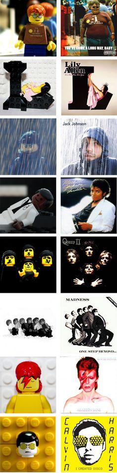 Classic Album covers in #lego
