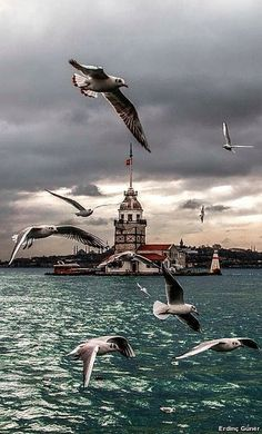 Der Jungfrauenturm in Istanbul - Istanbul - Istanbul Travel, Turkey Travel, Dream City, City Landscape, Most Beautiful Cities, Landscape Pictures, Go Kart, Places Around The World, Abandoned Places