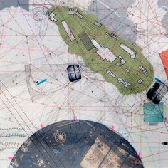 Radio Free Alcatraz: Trajectories. The dark circle in this drawing just south of the island is the area of underwater fill that is in the bathymetry mill that I previously posted. #architecture #drawing #mapping #art #design #alcatraz #cornelius #hyperdrawing #nativedesign #instaart #instaarch #sketch #architectureporn #soarch #critday #nextarch #superarchitects #arch_more #archisketcher