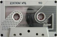 basf_edition_no4_90_ii_081001 audio cassette tape