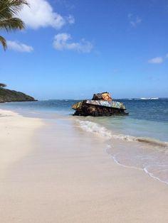 An old tank on the beach! [OC] [640 x 1136] : AbandonedPorn