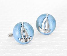 Nautical cufflinks from Crea Shines