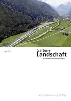 NEW ISSUE GARTEN + LANDSCHAFT APRIL 2015 PRINT ARRIVED 24.4.15