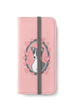 Italian Greyhound Love iPhone Wallet by Abigail Davidson at Redbubble