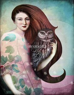 Catrin Welz-Stein  She and her Owl