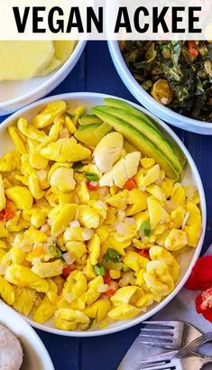 Enjoy Vegan Ackee, this amazing fruit reminds me of scrambled eggs. It is yummy served at breakfast, lunch or for dinner. A vegan, gluten-free version of popular traditional Jamaican Ackee and Salt fish recipe. Best Vegan Recipes, Veggie Recipes, Vegetarian Recipes, Cooking Recipes, Healthy Recipes, Vegetarian Cooking, Vegan Meals, Vegan Food, Cooking Tips