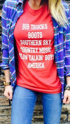 Country Girl | Available at BrookeandArrow.com | #mckeesteesplus