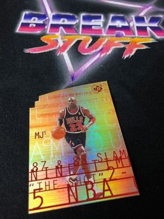 Michael Jordan UD3 Card #michaeljordan #mj23 #chicagobulls #upperdeck #nbacards #basketballcards #whodoyoucollect #tradingcards #marketplace #ballin #ballislife #collector #cardcollector #goat #mvp #halloffame #hof Basketball Cards, Upper Deck, Chicago Bulls, Michael Jordan, Trading Cards, Goat, Goats