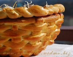 Basket with photo step-by-step instructions ~ (Plaited loaf a little different)