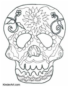 skull mask coloring pages printable skull mask coloring pages
