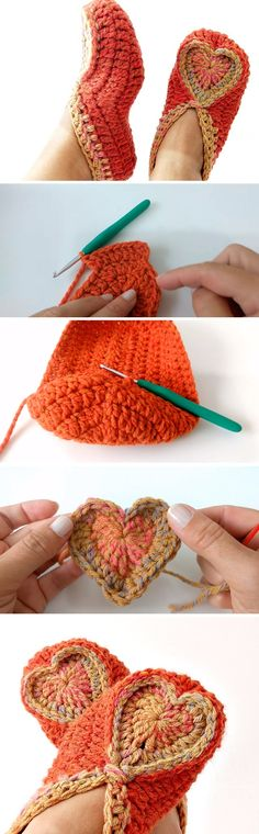 Today we are learning to crochet a beautiful hers slippers. The tutorial was fund online on Youtube and was ready to be embedded. We know that our readers love to crochet any slippers and special designs like this one are certainly one of the top choices our viewer make. The tutorial is so clean and… Read More Crochet Heart Slipper – Sep by Step Guide