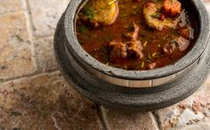 A recipe for javelina stew inspired by the Yucatan, where peccary is native. This recipe also works well with pork or wild pig, or turkey. Deer Recipes, Wild Game Recipes, Whole Food Recipes, Roast Recipes, Soup Recipes, Cooking Recipes, Native Foods, Fire Cooking, Stew