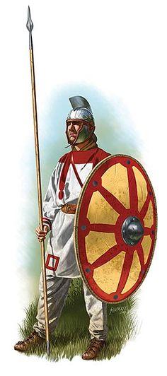 Roman soldier, V century AD