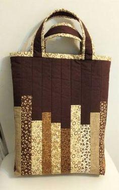 Image result for bolsa sacola em patchwork