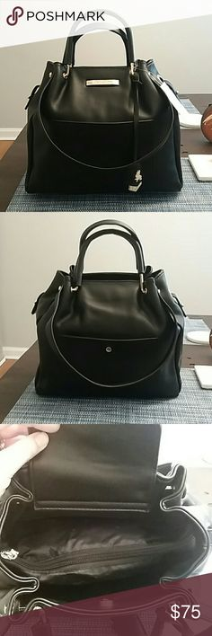 bb9b8d3430c2 RB Vegan Faux Queen of Tea Tote Shoulder Bag-Black  Vegan Leather